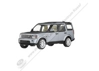 MODEL LAND ROVER DISCOVERY - INDUS SILVER 1:43