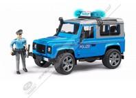 POLICEJNÍ VŮZ DEFENDER OD SPOLEČNOSTI BRUDER WHITE